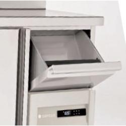 Vitrine service arrière 3 étagères réfrigérée