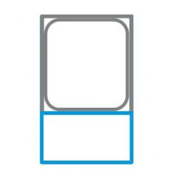 Mini armoire négative faible hauteur