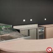 Meuble snack 2 portes en inox AISI-304 18/10 avec thermostat électronique et affichage digital spécial économie d'énergie. Possibilité portes vitrées et tiroirs  @coreco_refrigerated_equipment #meuble #snack
